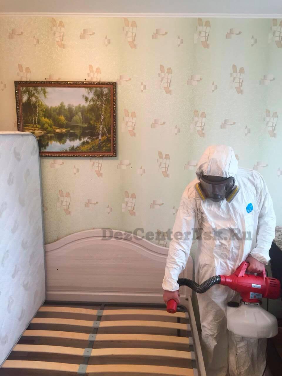 Уничтожение клопов Новосибирск