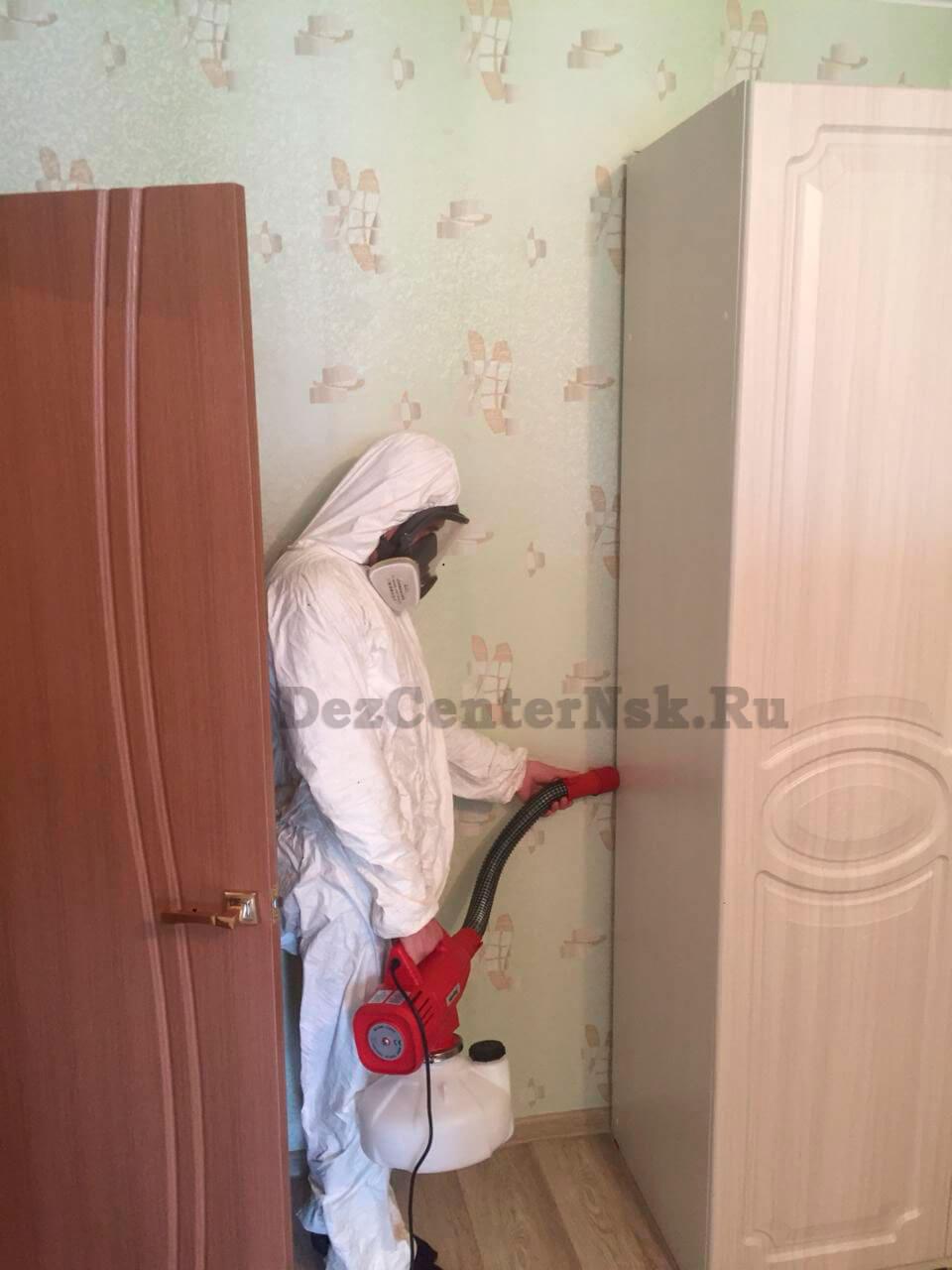 травля клопов в Новосибирске