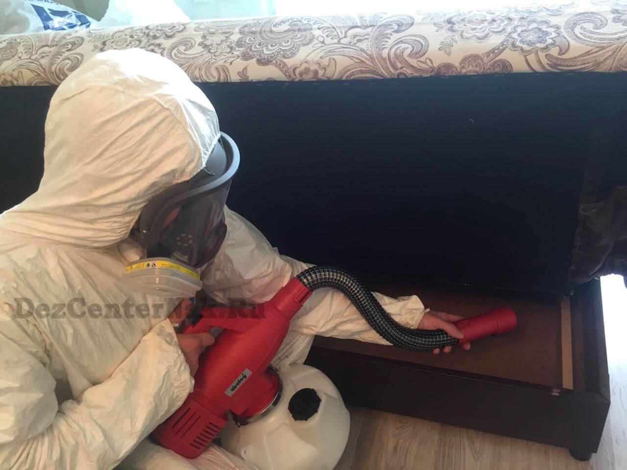 обработка от постельных клопов Новосибирск