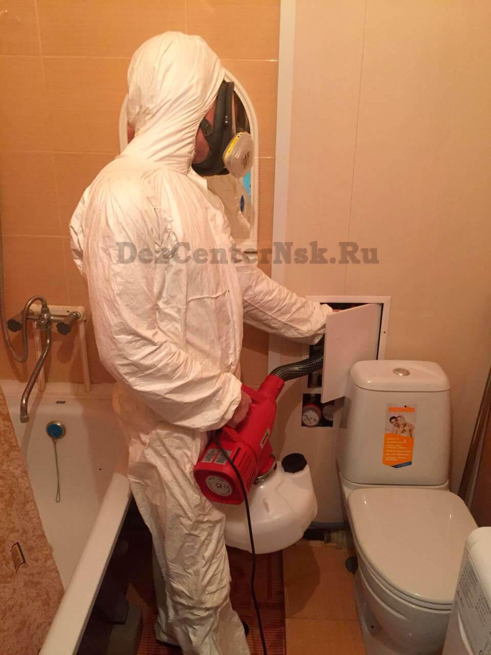 травля тараканов Новосибирск