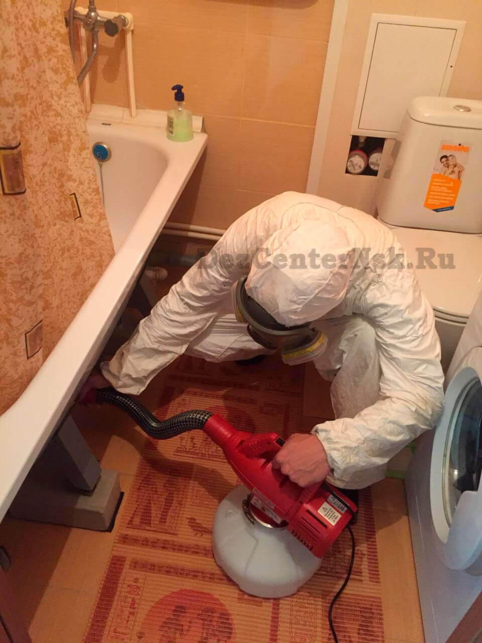 обработка от тараканов Новосибирск